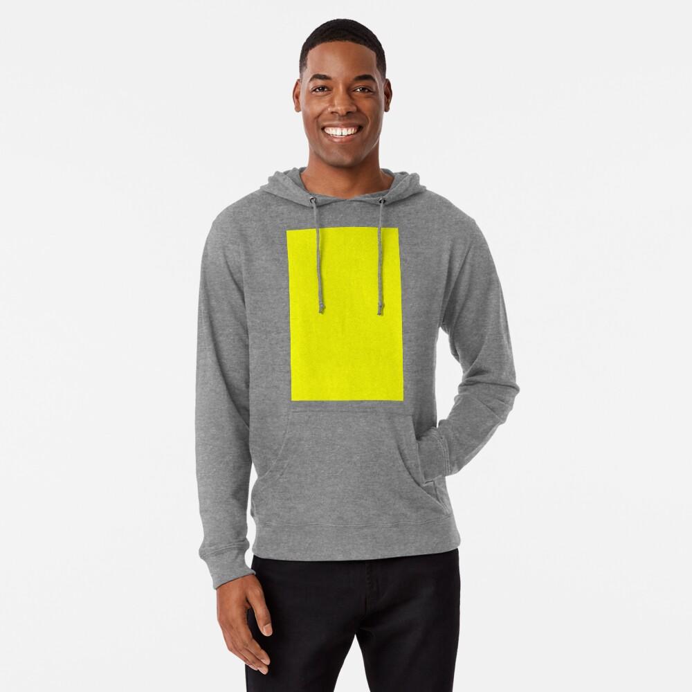 Neon fluorescent Yellow | Yellow|neon Yellow/Fluro Yellow Lightweight Hoodie