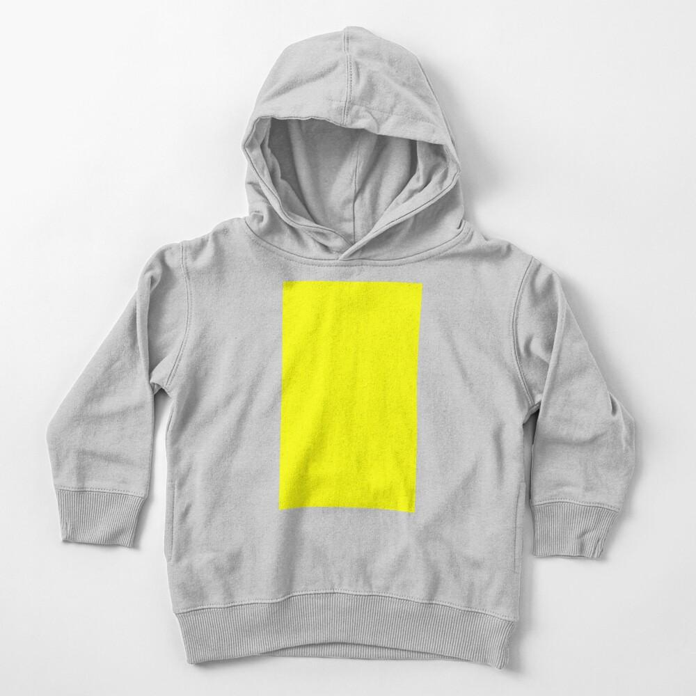 Neon fluorescent Yellow | Yellow|neon Yellow/Fluro Yellow Toddler Pullover Hoodie