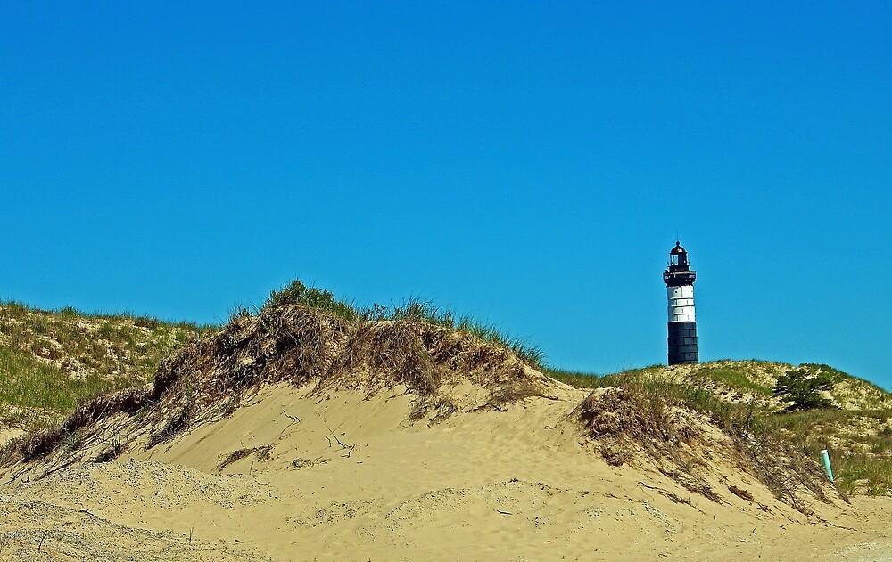 Big Sable Point Lighthouse - Ludington, Michigan by Robert Meyers