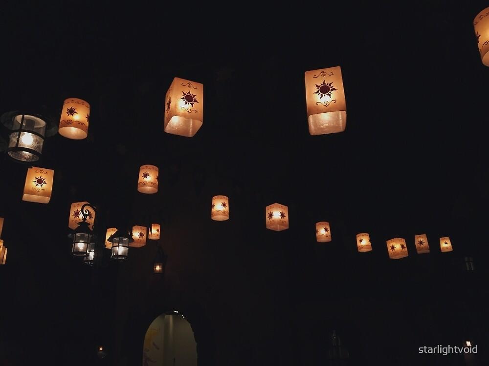 Tangled Lanterns  by starlightvoid