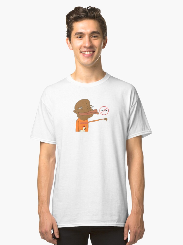 Anti-Racism Classic T-Shirt Front