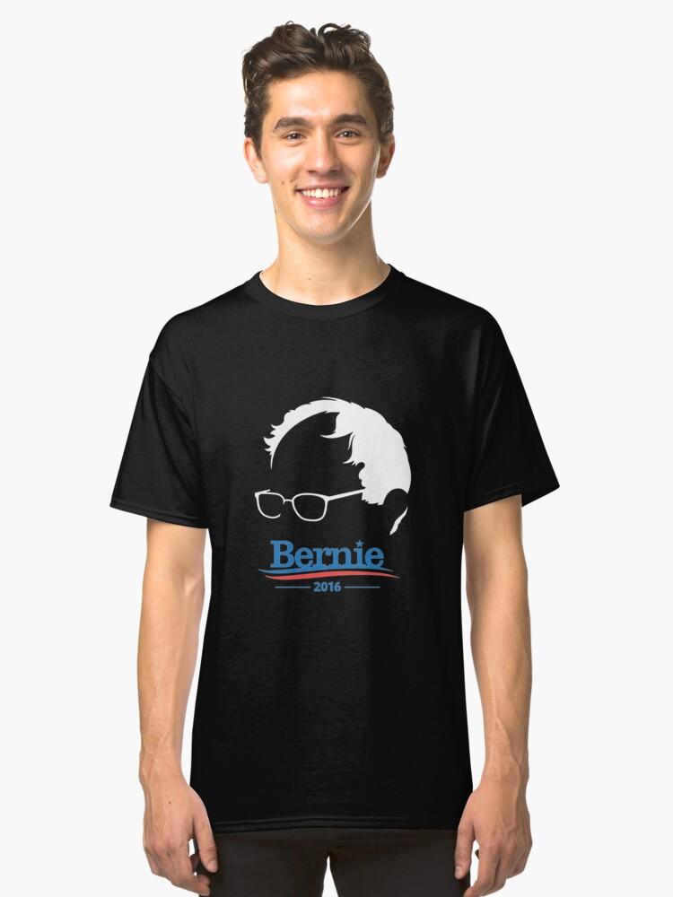 Bernie Sanders Transparan Classic T-Shirt Front