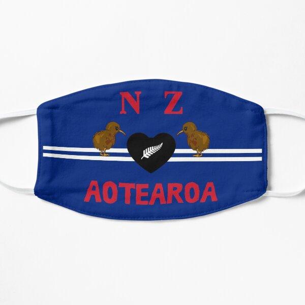 Kiwi Love from New Zealand Flat Mask