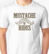 Mustache Rides Unisex T-Shirt