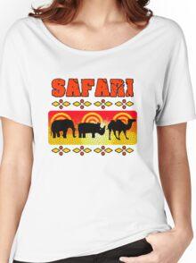 Safari Wild Life Hunt Women's Relaxed Fit T-Shirt