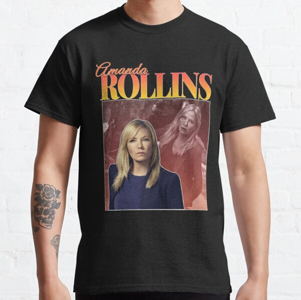 Amanda Rollins 90s Inspired Vintage Homage Classic T-Shirt