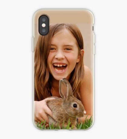 bunny delight iPhone Case