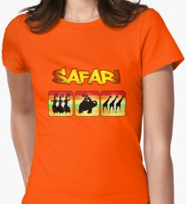 Safari  Womens Fitted T-Shirt