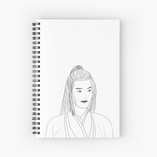 Wei Ying (schwarz) Spiralblock