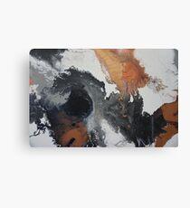 Mono Copper  Canvas Print