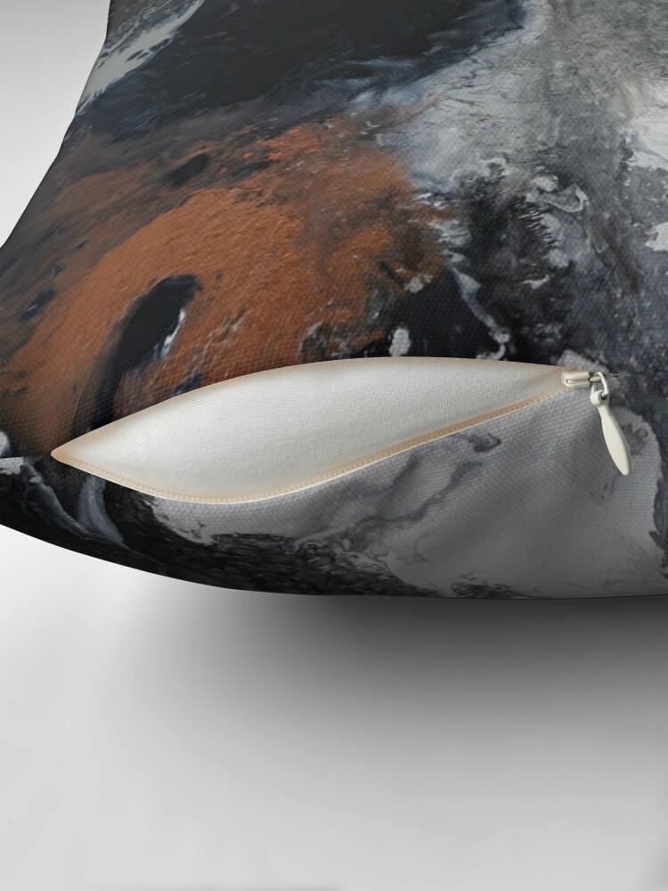 Alternate view of Mono Copper  Throw Pillow