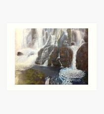 Iguazu- A piece of paradise Art Print