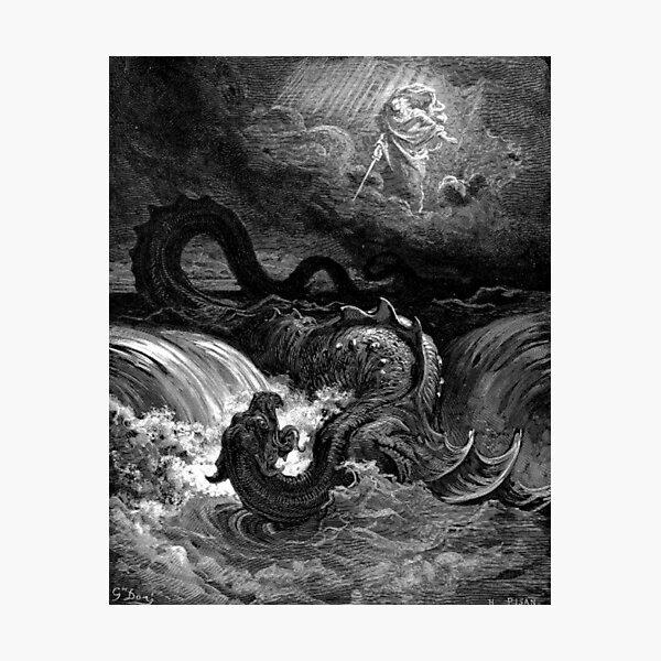 La défaite du Léviathan - Gustave Doré Impression photo