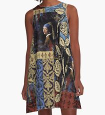 Roughly Royal Vermeer A-Line Dress