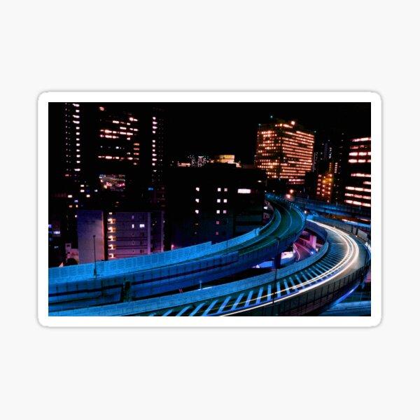 Automne au Japon: Electric City Sticker