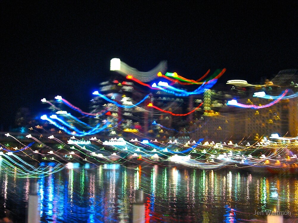 Darling Harbour in Motion by Jen Waltmon