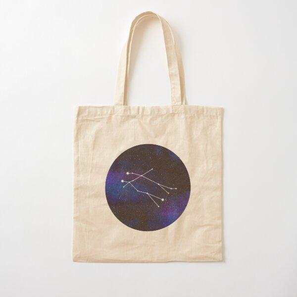 Gemini - galaxy star constellation Cotton Tote Bag