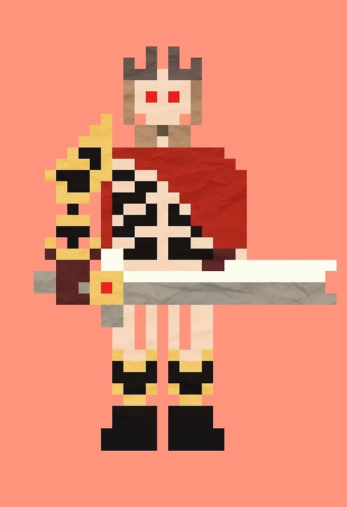 Ostarion the Skeleton King by Pixelteers