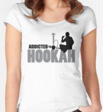 Hookah/Shisha Wearables Women's Fitted Scoop T-Shirt