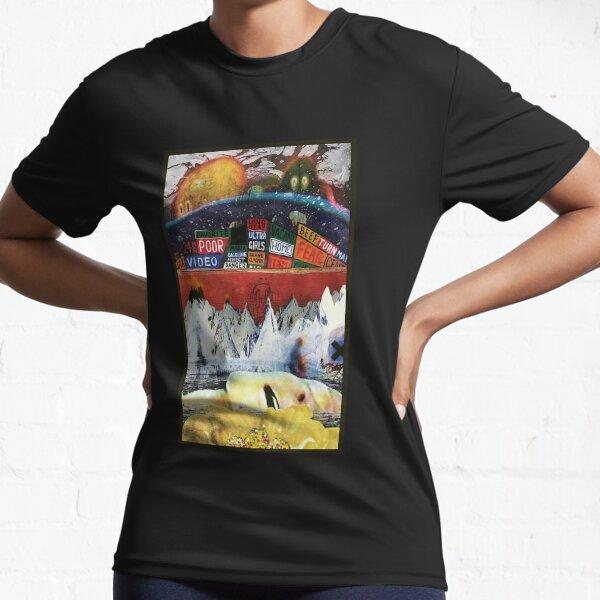 All radiohead albums Premium Scoop Active T-Shirt