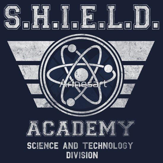 TShirtGifter presents: SHIELD Academy | Unisex T-Shirt