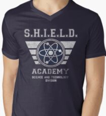 SHIELD Academy Men's V-Neck T-Shirt