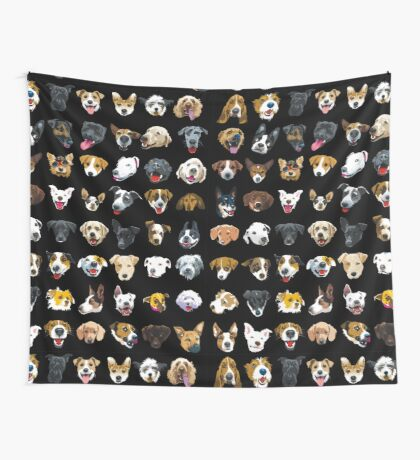 pooches Wall Tapestry