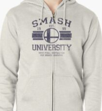 Smash University Zipped Hoodie