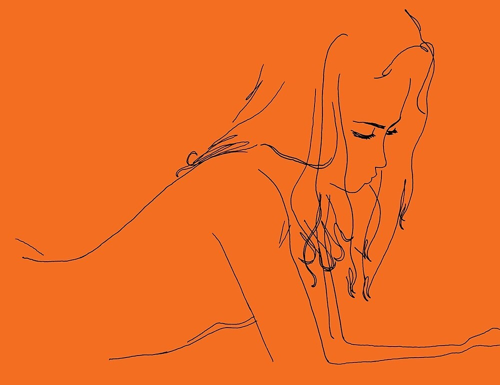 Orange Girl by Vanessadevore
