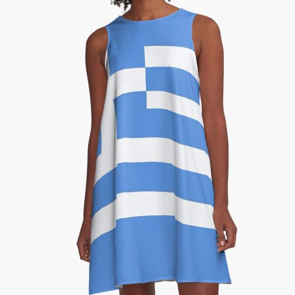 Greece A-Line Dress