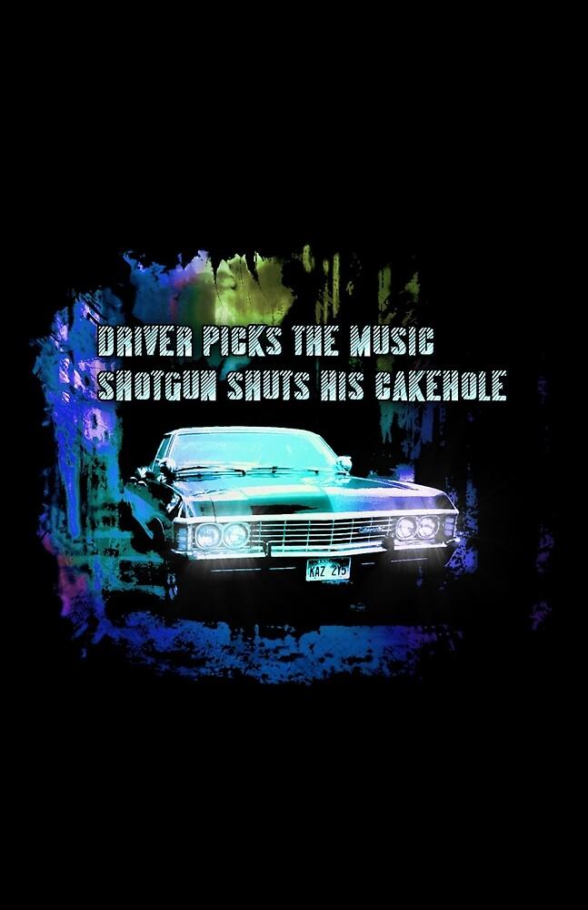 Driver Picks the Music by RisenShine22