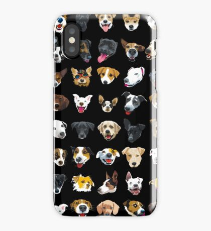 pooches iPhone Case
