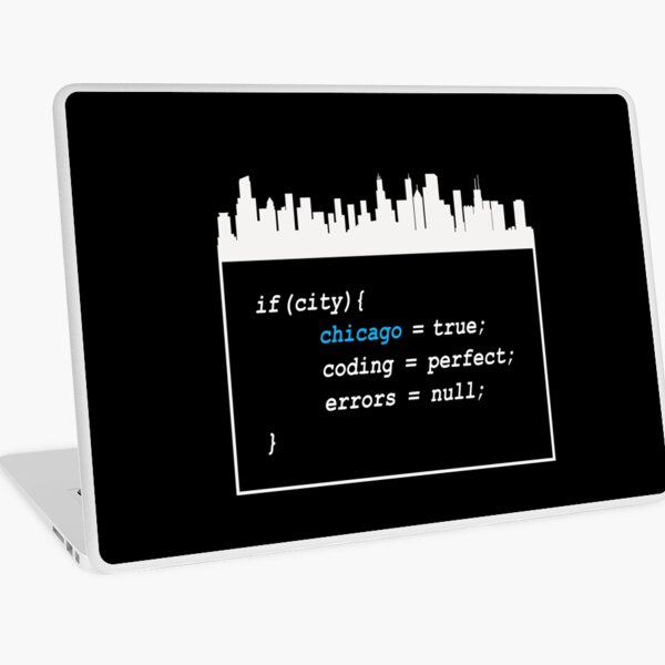 Chicago Coding Laptop Skin