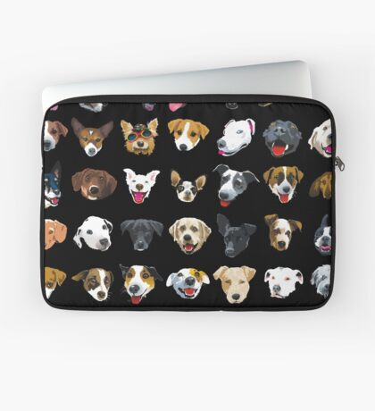 pooches Laptop Sleeve