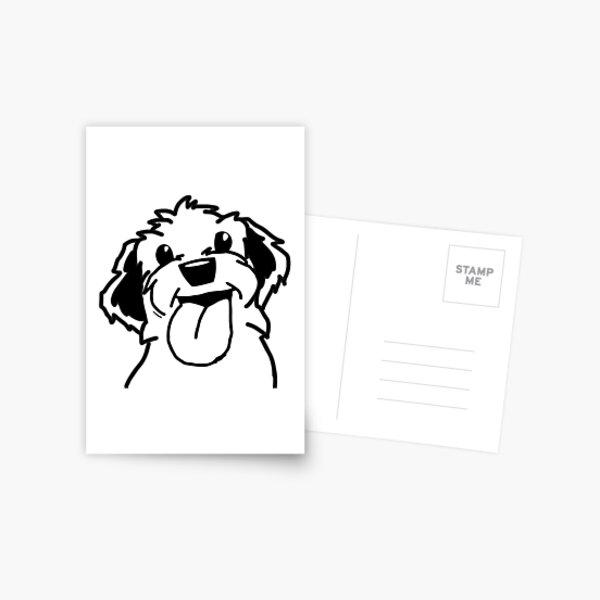 morntag lilly Postkarte