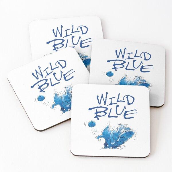 wild blue beer merch Coasters (Set of 4)