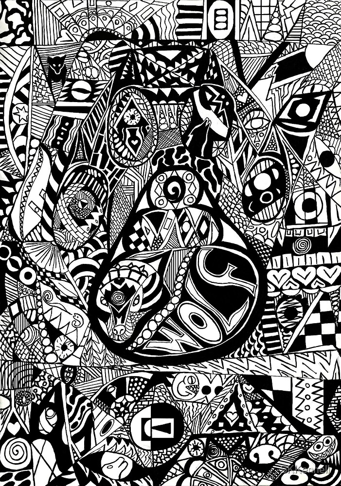 Wolf Pattern by SKKennell