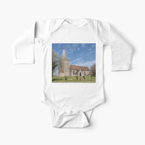 St Mary in the Marsh Long Sleeve Baby One-Piece