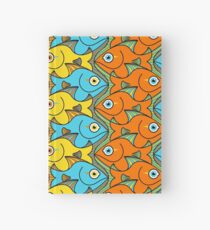 Something is Nicely Fishy Here! Hardcover Journal