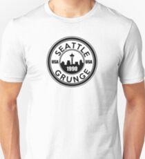 Seattle Grunge Slim Fit T-Shirt