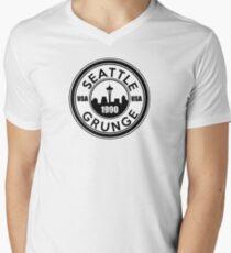 Seattle Grunge Men's V-Neck T-Shirt