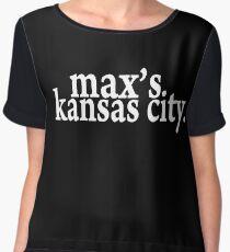 Max's Kansas City Chiffon Top