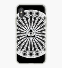 All-Seeing Eye - Black iPhone-Hülle & Cover