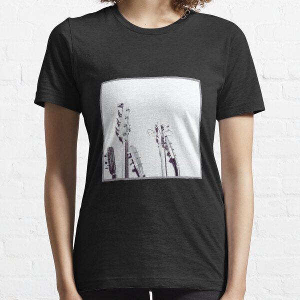 Vintage guitar black and white Essential T-Shirt