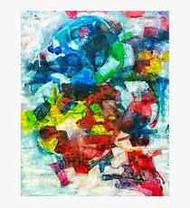 Blocks - Colours Photographic Print