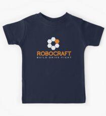 Robocraft Logo (White) Kids Tee