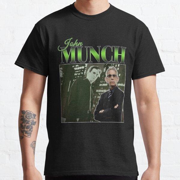John Munch 90s Inspired Vintage Homage Classic T-Shirt