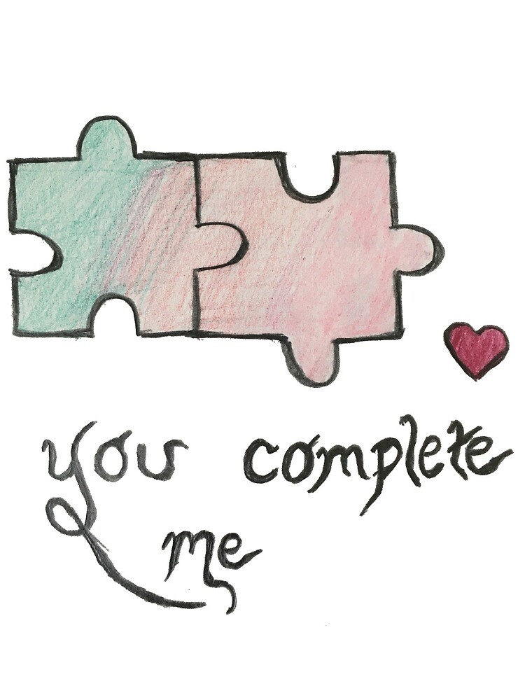 You complete me by anastasiakov