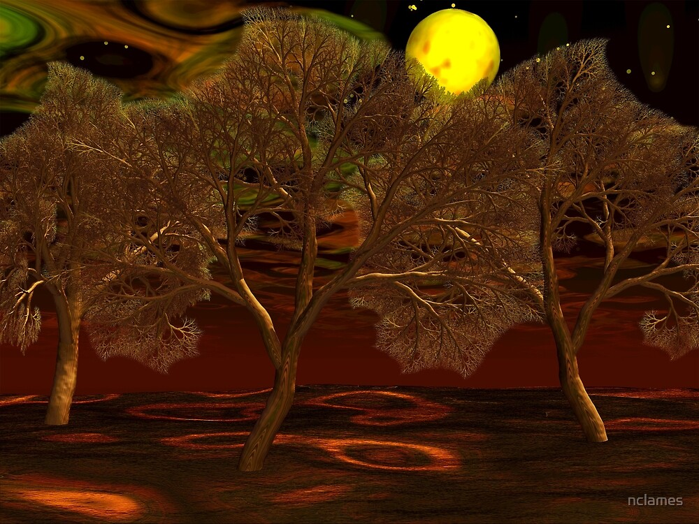 Moon Trees by nclames