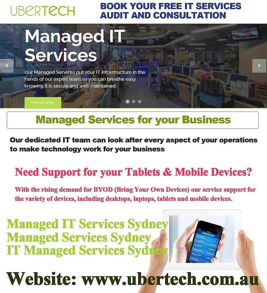 Managed IT Services Sydney by uubertbertechau